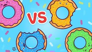 DONUT vs DONUT - Rematch!! by iHasCupquake