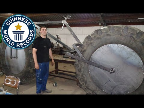 Heaviest rideable bicycle - Guinness World Records