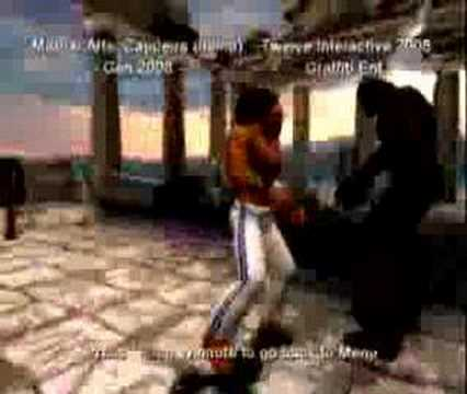 martial arts capoeira psp cso