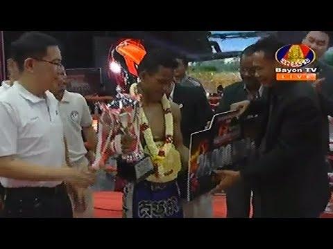 Sok Thy(Kaka) vs Long Chin, Khmer Boxing Bayon 27 April 2018, Final Kubota Champion