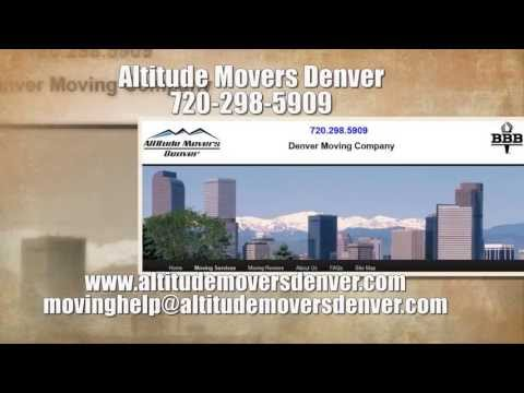 video:Denver Moving Company - Movers in Denver - Denver Moving