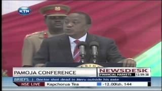 President Uhuru Kenyatta Opens Pamoja Conference With Peace Of Message