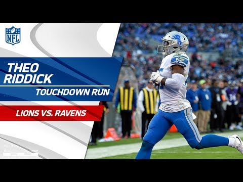 Video: Marvin Jones' Big Catch Leads to Theo Riddick's Speedy TD! | Lions vs. Ravens | NFL Wk 13
