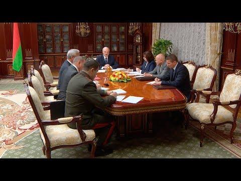 Лукашенко доложили о предложениях по кадровым назначениям в правительстве - DomaVideo.Ru