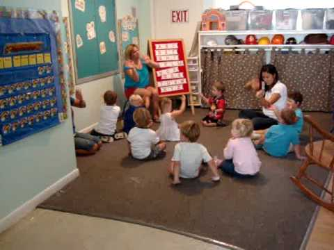 preschool - Singing at preschool.