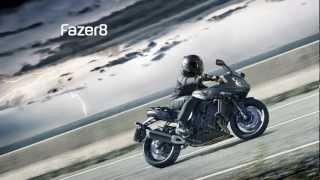 Yamaha Fazer8 2013 slideshow