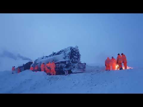 Die Rettung der Brockenlok 99 234 / ORIGINALTON (OHNE MUSIK) Brockenbahn # EISKÖNIGIN