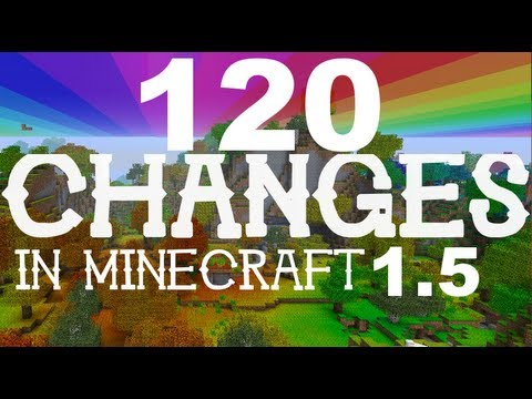 changes - It's finally here, Minecraft 1.5! Get your pre-release version at mojang.com! ○ Complete list of changes! : h...