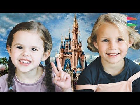 DISNEY WORLD WITH THE BUCKET LIST FAMILY!! - Thời lượng: 10 phút.