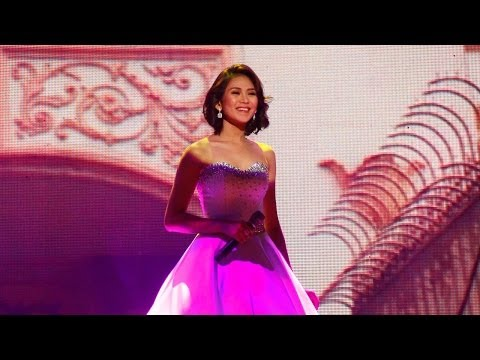 sarah - Sarah G pays tribute to the City of Manila by singing Dito sa Maynila, song and lyrics by Thyro and Yumi. She bewildered the crowd as her ball gown changes i...