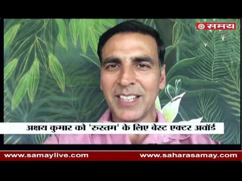 Akshay Kumar spoke on winning the Award of Best Actor in Film