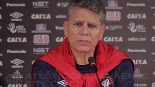Entrevista pré-jogo: Atlético Paranaense x Chapecoense - Paulo Autuori