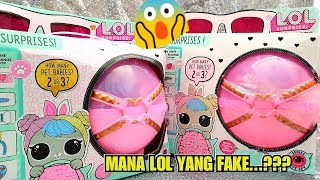 Video LOL SURPRISE BIGGIE PETS REAL AND FAKE | unboxing lol surprise | rista ideanuj MP3, 3GP, MP4, WEBM, AVI, FLV Juni 2019