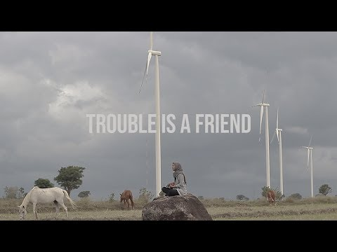 Trouble Is A Friend - Lenka (Feby Cover)