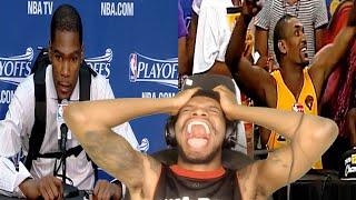 KOBE PASSED ME THE BALL! HILARIOUS NBA INTERVIEWS REACTION!