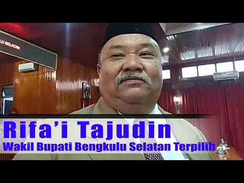 Rifai Tajudin Wakil Bupati Bengkulu Selatan Terpilih