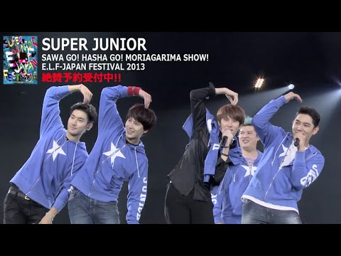 SUPER JUNIOR / 「さわGO ! はしゃGO ! 盛り上がりまSHOW ! E.L.F JAPAN FESTIVAL 2013」ダイジェスト映像