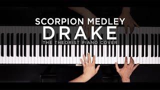 Drake Scorpion Medley | The Theorist Piano Cover