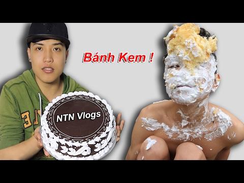 NTN - Thử Đập Bánh Kem Vào Mặt ( Pie In The Face ) (видео)
