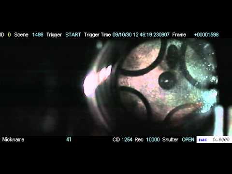 High speed video of diesel split injection in a single cylinder optical engine