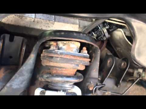 diydom - This is part two on removing the suspension parts of a 2005 Dodge Dakota, in order to eventually remove the strut and coil assembly, so we can replace a brok...