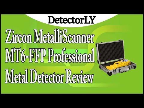 Zircon MetalliScanner MT6-FFP Professional Metal Detector Review
