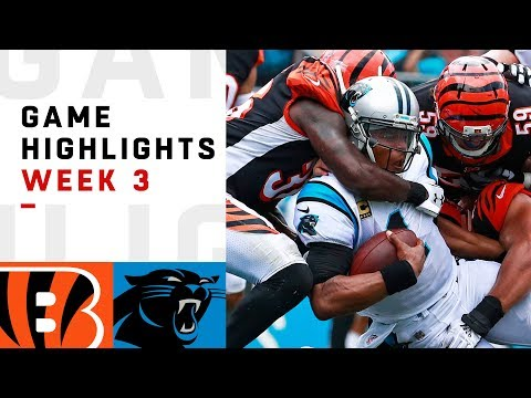 Bengals vs. Panthers Week 3 Highlights | NFL 2018 - Thời lượng: 10:39.