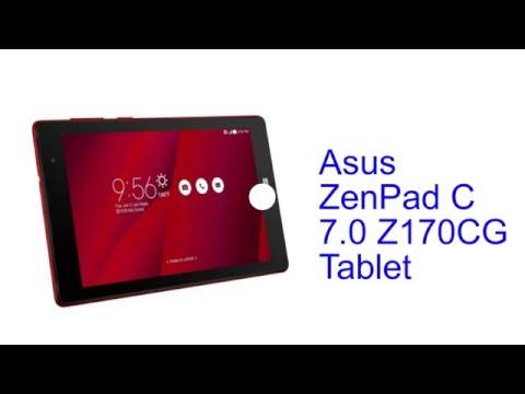 Asus ZenPad C 7.0 Z170CG Tablet Specification [INDIA]