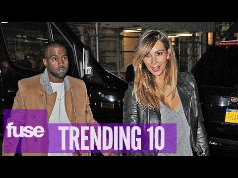Kim - Check out all of today's top stories on Twitter: Web: http://www.fuse.tv/trending10 Twitter: https://twitter.com/T10 And tune into