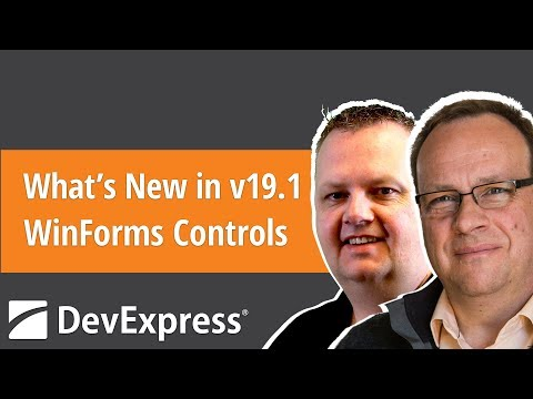 What's New in v19.1 - WinForms Controls