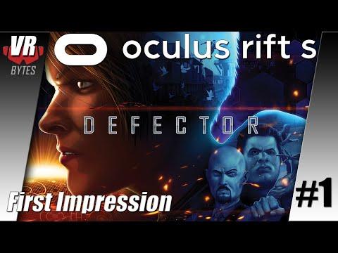 Defector / Oculus Rift S / First Impression / Deutsch / Spiele / Test