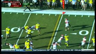 Robbie Rouse vs Oregon (2012)