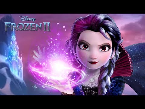 Frozen 2: Elsa goes to the dark side ❄️🖤 The great evil of the enchanted forest | Alice Edit!