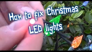 Download Video EASY WAYS HOW TO FIX LED CHRISTMAS LIGHTS MP3 3GP MP4