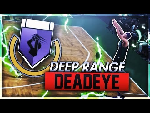 NBA 2K18 Tips: How to get DEEP RANGE DEADEYE BADGE! - How to get DEADEYE BADGE FAST & EASY in 2K18!
