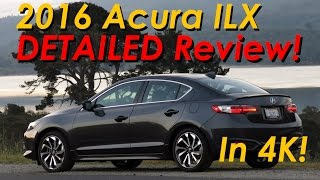 2016 Acura ILX DETAILED Review And Road Test - In 4K!