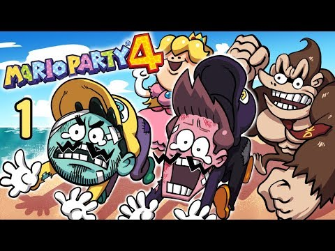 Mario Party 4 - EP 1: CPUs Are Hard   SuperMega