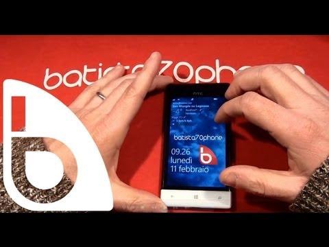 Video Recensione HTC 8S da batista70phone