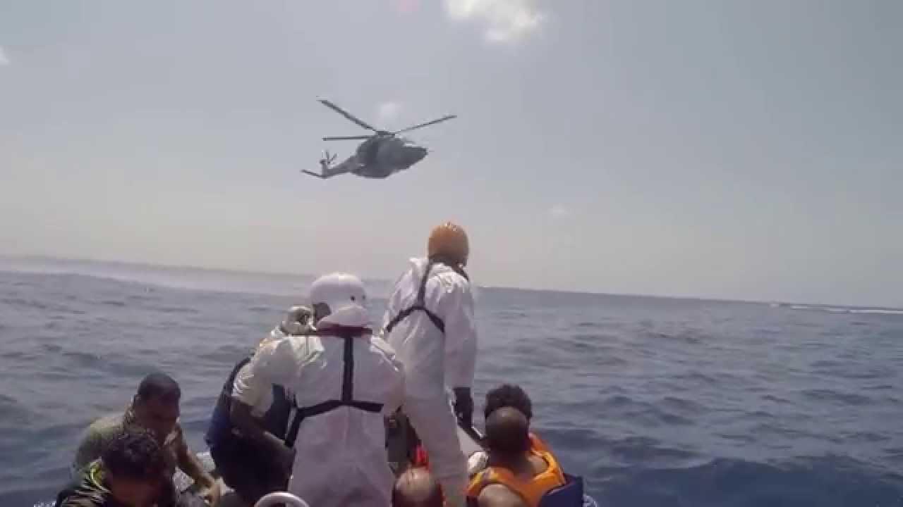 Eπιχείρηση διάσωσης των Γιατρών Χωρίς Σύνορα κοντά στις ακτές της Λιβύης