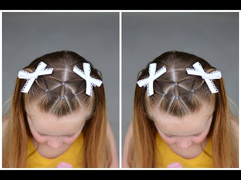 Short hair styles - Diagonal Front Pigtails  Hairstyle for Short to Long Hair