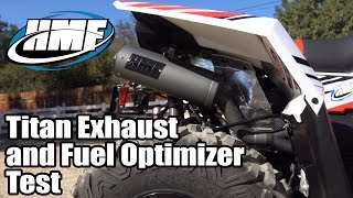 7. HMF Polaris Scrambler XP 1000 and 850 Titan Exhaust and Fuel Optimizer Test