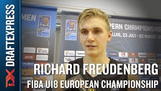 Richard Freudenberg 2015 FIBA U18 European Championship Interview
