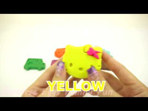 Learn Colors Play Doh Cars Mickey Mouse Ice Cream Popsicle Play Foam Surprise Eggs Creative for Kid