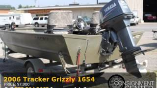 9. 2006 Tracker Grizzly 1654
