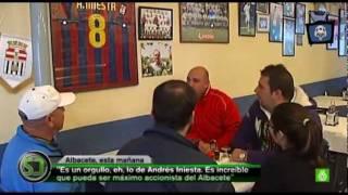 Andrés Iniesta será accionista del Albacete Balompié