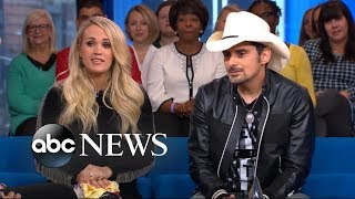 Video Carrie Underwood and Brad Paisley play a game of 'Country Grammar' on 'GMA Day' MP3, 3GP, MP4, WEBM, AVI, FLV Desember 2018