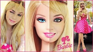 Video Barbie Makeup Tutorial & Costume Idea! Halloween 2014 - Jackie Wyers MP3, 3GP, MP4, WEBM, AVI, FLV Januari 2018