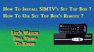 Download Lagu Installation of Set Top Box and Use of Remote ( SimTV Nepal ) Mp3