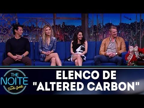 "Entrevista Com O Elenco De ""Altered Carbon"" 