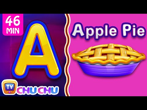 Food Alphabets ABC Phonics Song & Many More Nursery Rhymes & Kids Songs | ChuChu TV
